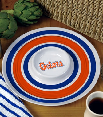 Florida Plastic Chip and Dip Plate