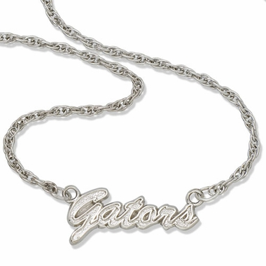 Florida Script Necklace