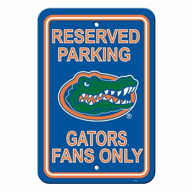 Florida Plastic Parking Sign (P)
