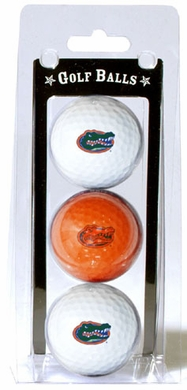 Florida Set of 3 Multicolor Golf Balls
