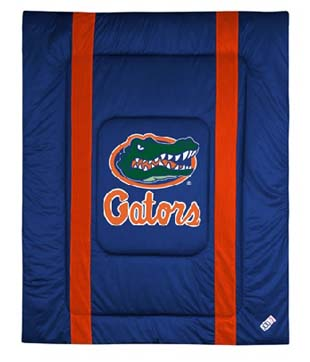 Florida SIDELINES Jersey Material Comforter