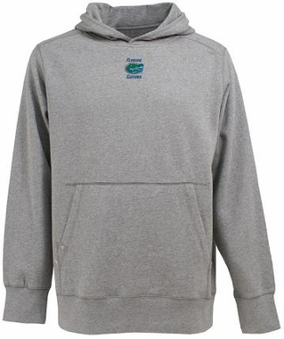 Florida Mens Signature Hooded Sweatshirt (Color: Gray)