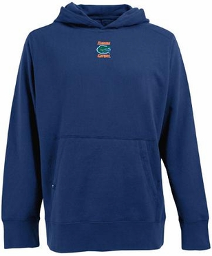 Florida Mens Signature Hooded Sweatshirt (Team Color: Royal)