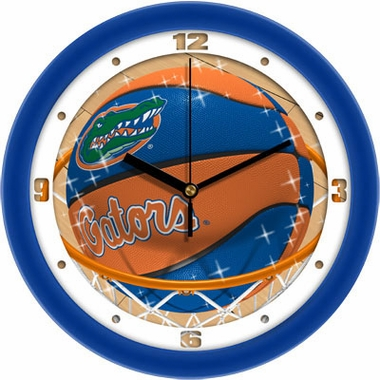 Florida Slam Dunk Wall Clock
