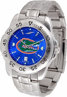 Florida Sport Anonized Men's Steel Band Watch