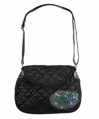 Florida Sport Noir Quilted Saddlebag