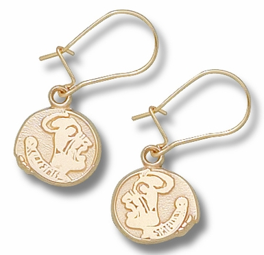 Florida State 10K Gold Post or Dangle Earrings