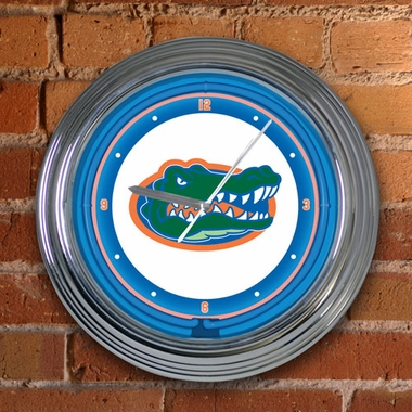 Florida State 15 Inch Neon Clock