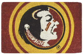 Florida State 18x30 Bleached Welcome Mat