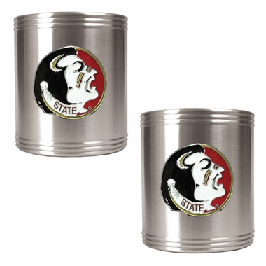 Florida State 2 Can Holder Set