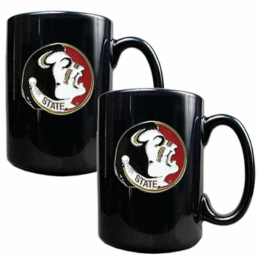 Florida State 2 Piece Coffee Mug Set