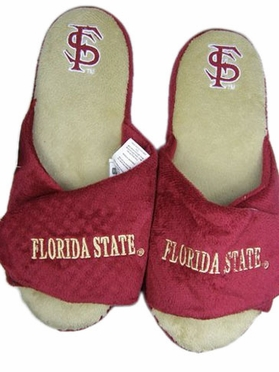 Florida State 2011 Open Toe Hard Sole Slippers