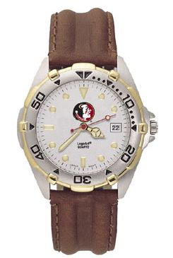 Florida State All Star Mens (Leather Band) Watch