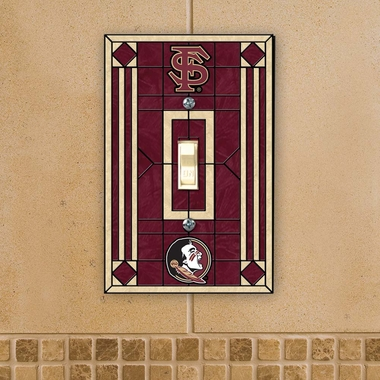 Florida State Art Glass Lightswitch Cover