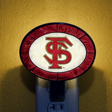 Florida State Art Glass Night Light