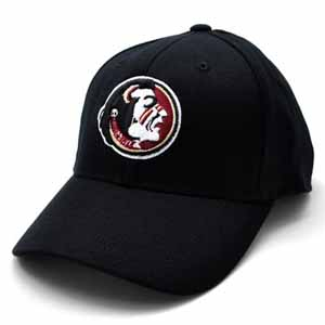 Florida State Black Premium FlexFit Baseball Hat - Small / Medium