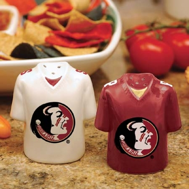 Florida State Ceramic Jersey Salt and Pepper Shakers