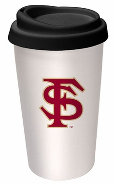 Florida State Ceramic Travel Cup