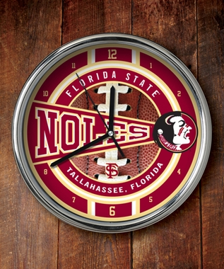 Florida State Chrome Clock