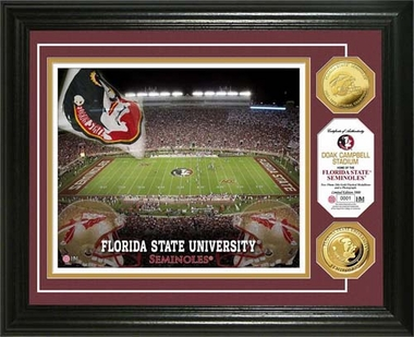 Florida State Seminoles Florida State University Gold Coin Photo Mint