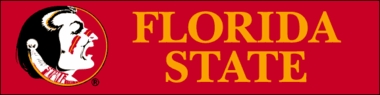 Florida State Eight Foot Banner