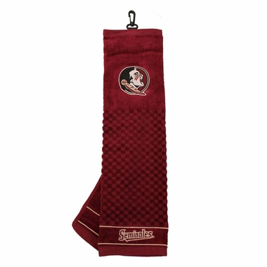 Florida State Embroidered Golf Towel