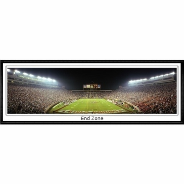 Florida State End Zone Framed Panoramic Print