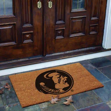 Florida State Flocked Coir Doormat