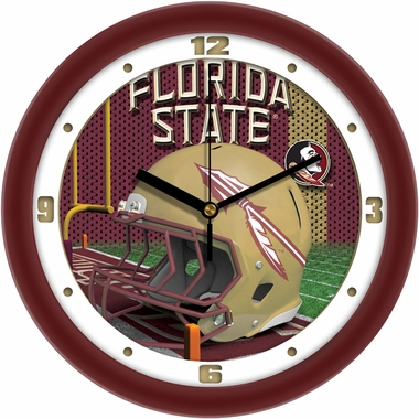 Florida State Helmet Wall Clock