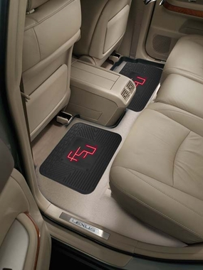 Florida State SET OF 2 Heavy Duty Vinyl Rear Car Mats