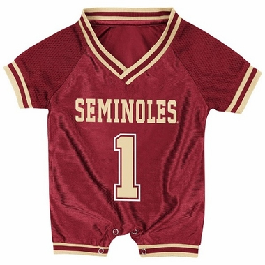 Florida State Infant Pounce Football Jersey Onesie