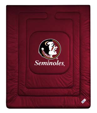 Florida State Jersey Material Comforter