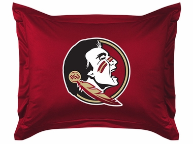 Florida State Jersey Material Pillow Sham