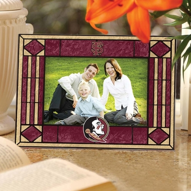 Florida State Landscape Art Glass Picture Frame