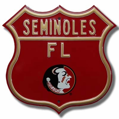 Florida State Logo Route Sign