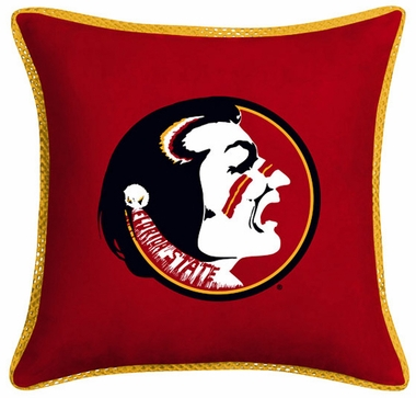 Florida State Microsuede Toss Pillow