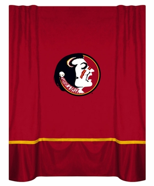 Florida State MVP Microsuede Shower Curtain