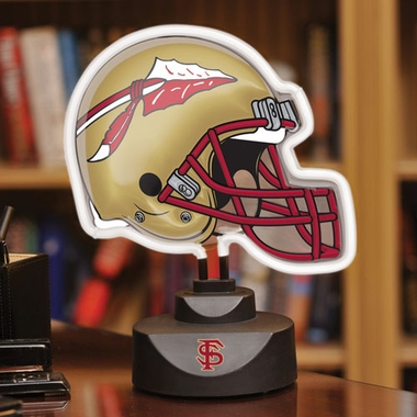 Florida State Neon Display Helmet