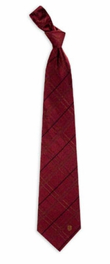 Florida State Oxford Stripe Woven Silk Necktie