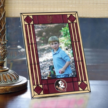 Florida State Portrait Art Glass Picture Frame