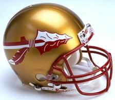 Florida State Riddell Full Size Authentic Helmet