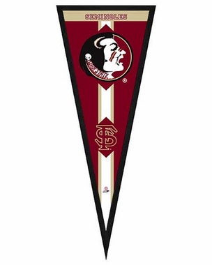 "Florida State Seminoles Pennant Frame - 13""x33"" (No Glass)"