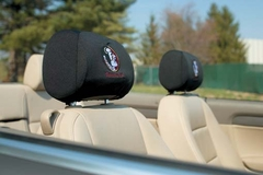 Florida State Set of 2 Headrest Covers (F)