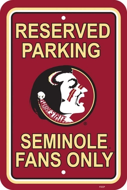 Florida State Plastic Parking Sign (P)