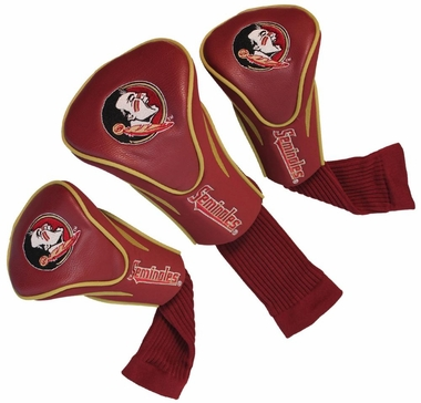 Florida State Set of Three Contour Headcovers