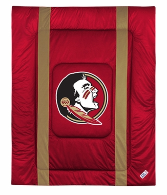 Florida State SIDELINES Jersey Material Comforter