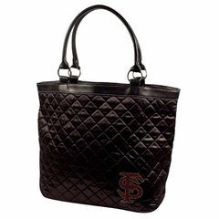Florida State Sport Noir Quilted Tote
