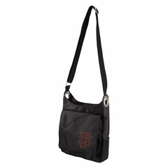 Florida State Sport Noir Sheen Crossbody Bag