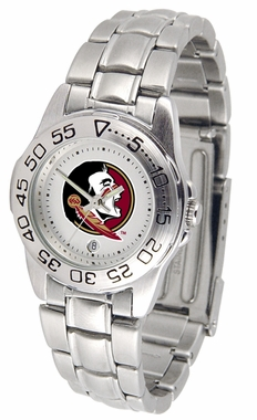 Florida State Sport Women's Steel Band Watch