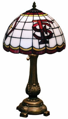 Florida State Stained Glass Table Lamp